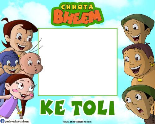 Chhota Bheem Photobooth App | Free Colorful Photo Frames for Kids